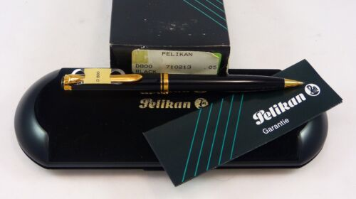 Mint Pelikan D800 Black Mechanical Pencil, W Germany, Boxed, Clip Tag, .5mm