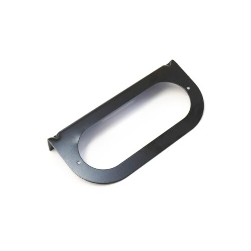 """Details about  /1 Mounting Brackets for 6/"""" Oval Light Powder Coated Steel Black Trailer RV 1pc"""