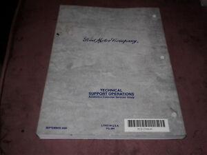 2001 Mercury Cougar Wiring Diagrams Manual | eBay