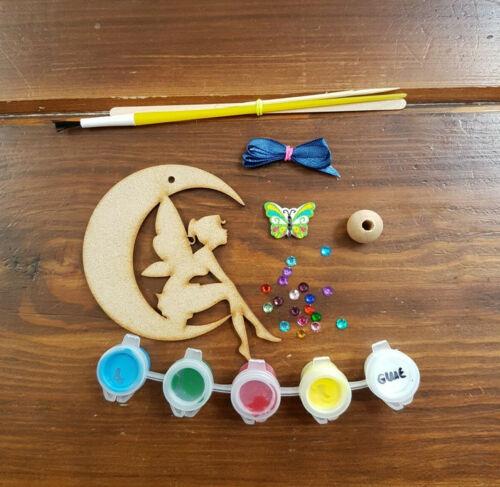 colorante para adultos. Bolsitas Fiesta Favores Pintura Su Propio Colgante Luna Hadas