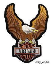 HARLEY DAVIDSON UPWING EAGLE BAR SHIELD VEST PATCH ** SMALL ** BIKER MOTORCYCLE