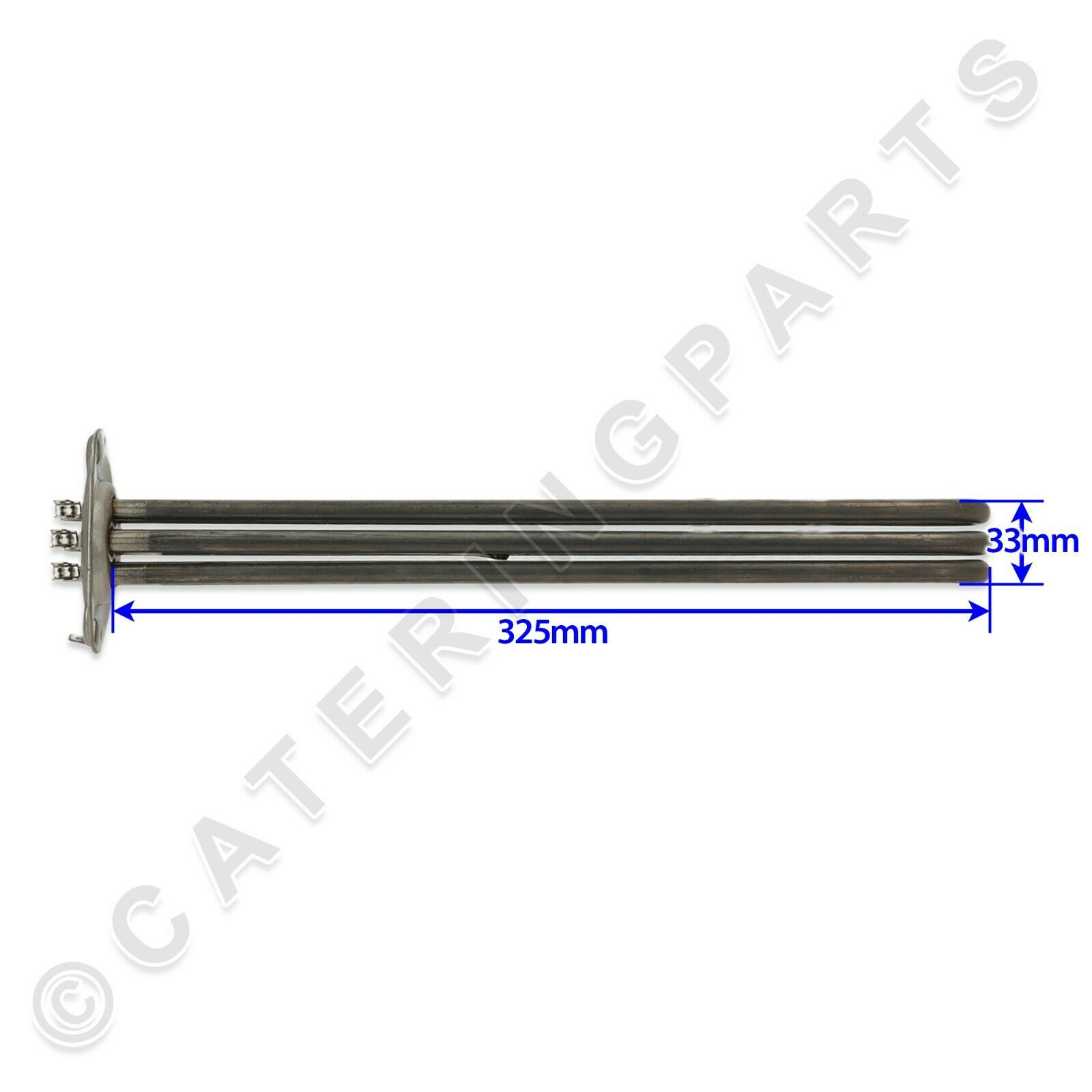 2.7KW RINSE TANK HEATING ELEMENT FOR LINEA BLANCA DISHWASHER GLASSWASHER A030022