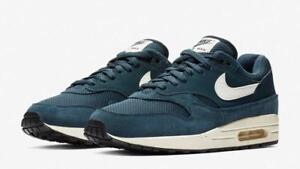 finest selection b5f9b 4bbde Image is loading NIKE-AIR-MAX-1-AH8145-401-ARMORY-NAVY-