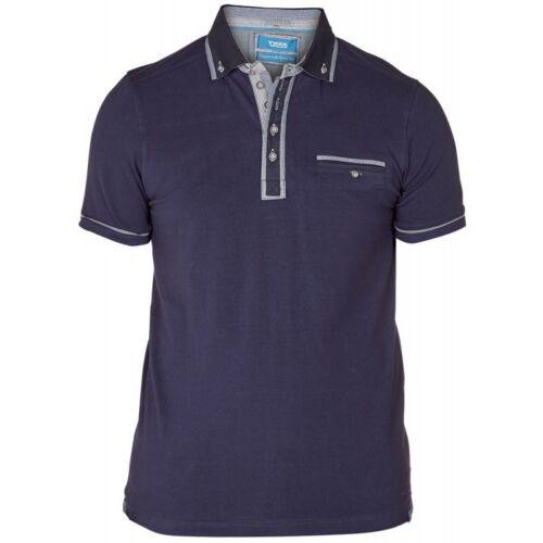 D555 Homme de marque king taille s Bnwt manches Polo-Disponible en 2 couleurs
