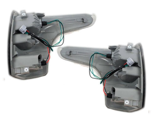 Tail Lamp Lights Rear Smoke Black For Mitsubishi Triton L200 MQ 2015 16 17 18 19
