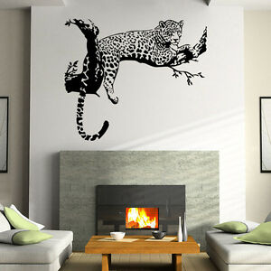Http Www Ebay Com Itm Large Leopard Tiger Art Room Home Removable Decor Wall Decal Sticker Mural Ay 301898189725