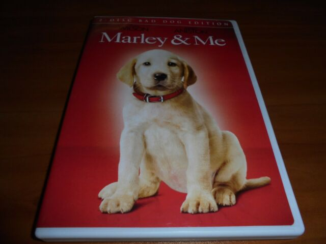 Marley & Me (DVD, 2009, Bad Boy Edition Widescreen) And Jennifer Aniston Used
