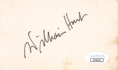 Movies Autographs-original Fast Deliver William Hurt Signed 3x5 Index Card Actor/body Heat Jsa Cc38059 Distinctive For Its Traditional Properties