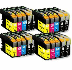 Lot-LC203XL-LC-203XL-Ink-Set-For-Brother-LC201-MFC-J460dw-MFC-J480dw-MFC-J485dw