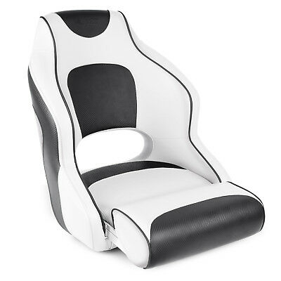 Leader Accessories Two Tone Captain S Bucket Seat White