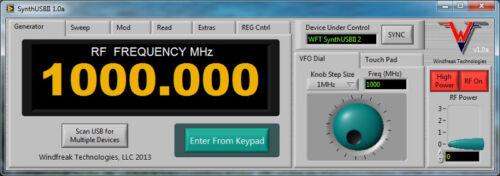 4.4 GHz RF Synthesizer Signal Generator USB