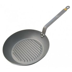 NEW De Buyer Mineral B  Grill Pan 26cm