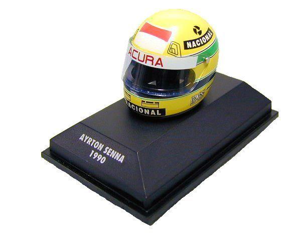 Minichamps 1 8  Senna McLaren Honda Casque Helmet 1990