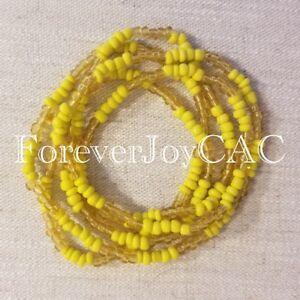 Oshun-Ochun-Eleke-Collar-Santeria-Lukumi-Orisha-Spiritual-Beaded-Necklace