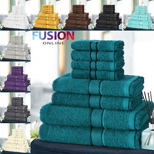 8pc-Towel-Bale-Set-Luxury-100-Egyptian-Cotton-Face-Hand-Bath-Bathroom-Towels