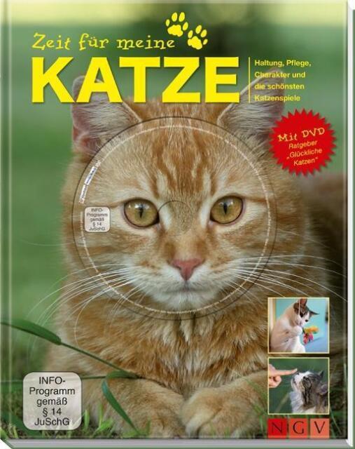 Zeit für meine KATZE * Buch mit DVD