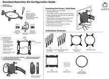 Asetek Liquid Cooler Intel 115X and 1366 Retention Ring Kit