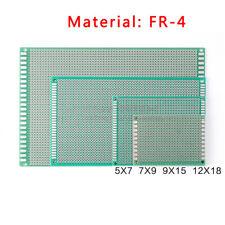 Single Side Tinned Prototyping Pcb Universal Stripboard Board Fr 4 Glass Fiber