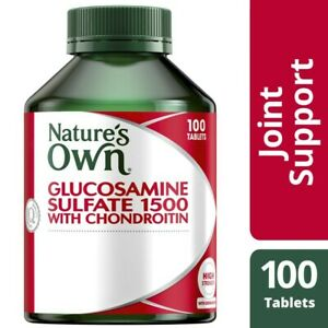 Nature's Own Glucosamine And Chondroitin 1500mg Tablets 100 pack