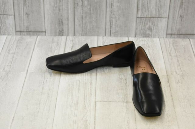 French Sole Womens Duet Black Loafers