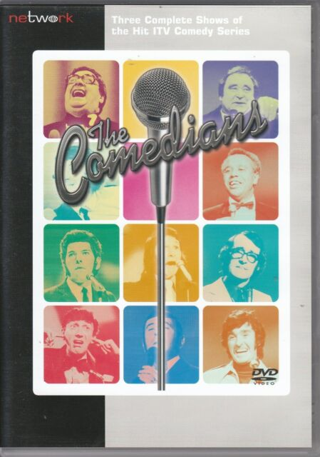 The Comedians - Series 1 - Episodes 1-3 (NEW & SEALED DVD, 2008)