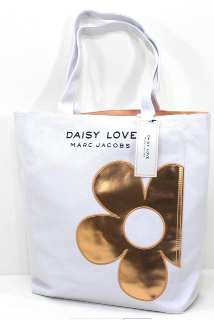 SHOPPER MARC JACOBS DAISY LOVE TOTE HOLIDAY BAG