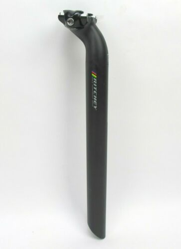 Ritchey WCS One Bolt Carbon 31.6 Seatpost 350mm 25mm $199 MSRP