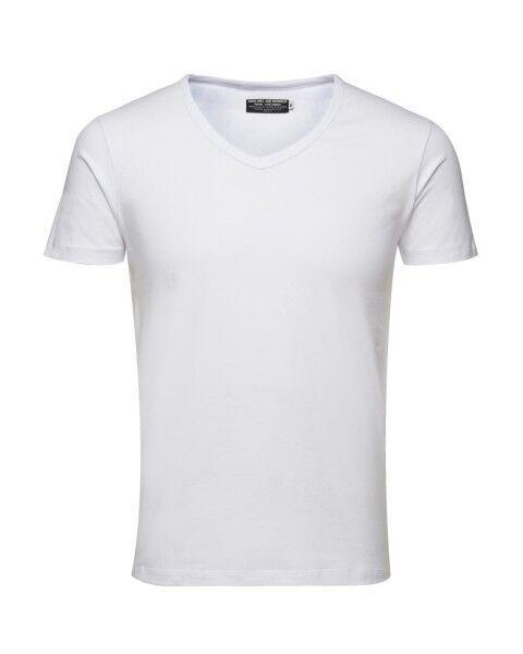 Jack & Jones t-shirt 4er pack t-shirt Jones hommes Basic v-neck tee s/s Noos, unicolore aa5d51