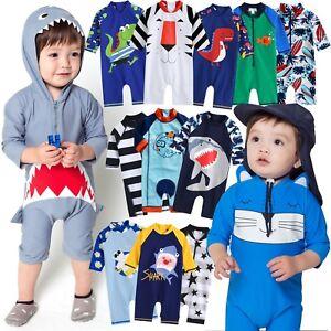 55998fc3de Vaenait Baby Infant Boys UPF+50 Swimwear Bathing Suit