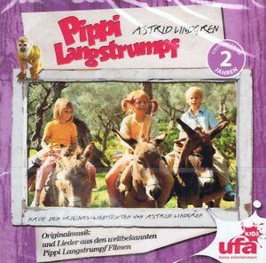 Pippi-Langstrumpf-Originalmusik-und-Lieder-CD-NEU-Potz-und-Blitz-Piraten