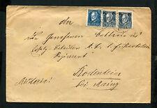 Bayern - Brief nach Bodenheim, Militaria   (J-K4)