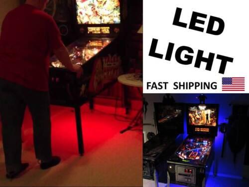 LED Lifetime WARRANTY backlight - PINBALL Machine Under Cabinet Lighting