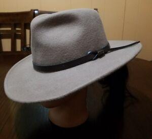 ddf24361115 Dorfman Pacific Scala Four Seasons Hand Made Wool Felt Outback Hat ...