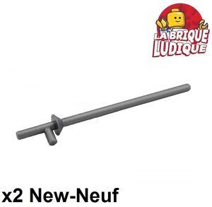 2x lego arme épée Flat Argent Chevalier Roi 8813 4226318 48495