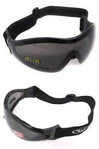 Global-Vision-Z-33-Tinted-Category-3-UV400-Skydiving-Freefall-Parasports-Goggles