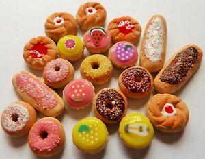 SYLVANIAN-FAMILIES-FOOD-HANDMADE-20-PIECE-MIXED-FOOD-BUNDLE-COMBINED-P-P