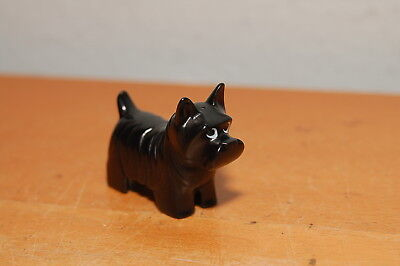 RARE SCOTTISH TERRIER Black Dog Puppy Pet Lego Duplo