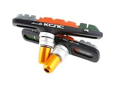 KCNC VB1 MTB Bike V Brake Shoes Pads with Titanium bolts for Shimano XTR XT