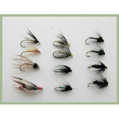 6x or 12x Pearly Snatcher Wet Trout Flies for Fly Fishing 3x