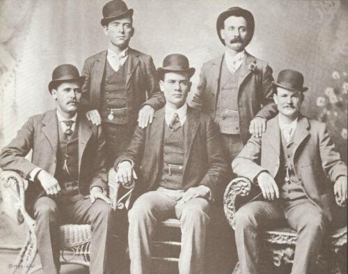 "WESTERN Butch Cassidy WILD BUNCH Sundance Kid VINTAGE Photo Print 796 11/"" x 14/"""