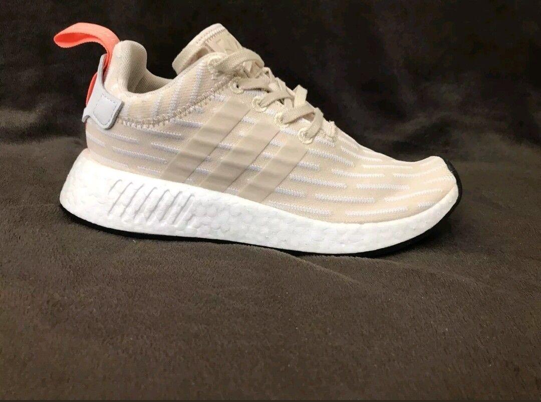 big sale ac4a2 879a1 New Adidas NMD R2 Linen BA7260 Tan Tan Tan White Boost ...