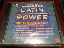 LATIN POWER KARAOKE VCD DVD VCLP-045 HOT LATIN HITS VOL 4 SEALED