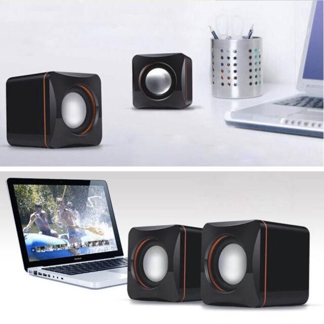 Mini Portable USB Audio Music Player Speaker for iPhone iPad MP3 Laptop PC GK
