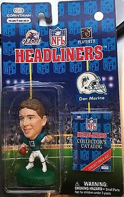 1996 Dan Marino Miami Dolphins Corinthian Headliner mint on card