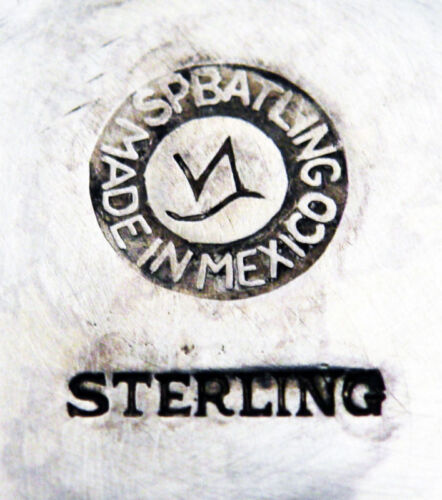 Charming SPRATLING STERLING SILVER ROPE MOTIF CANDLESTICKS 1950