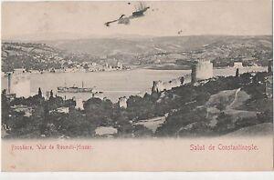 POSTCARD-TURKEY-CONSTANTINOPLE-Vue-de-Roumeli-Hissar