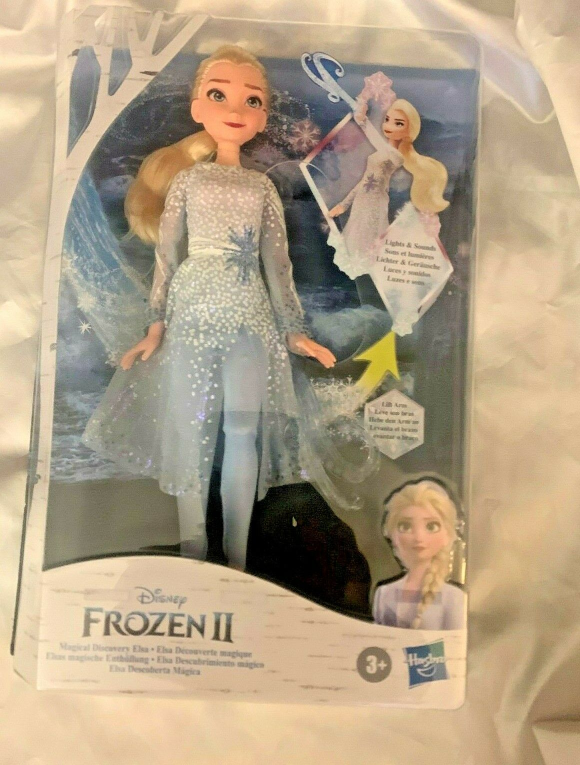 Disney Frozen 2 Movie Magical Discovery Elsa Doll