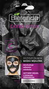 Bielenda CARBO Detox-maschera di pulizia per maturità Pelle - 8g
