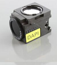 Nikon Dapi Uv Dm400 Fluorescence Quadfluor Cube Microscope