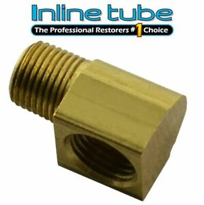 "27 NPT Brass Brake Fitting 1//4/"" Inverted Flare x 1//8/"" We Ship Fast to You!!!"